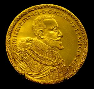 40 dukatów Zygmunta III Wazy (źródło: Wikipedia)